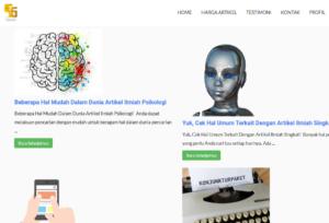 website artikel ilmiah